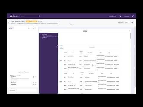 Demo: Data Center Security Automation With Cisco Tetration And Phantom