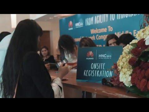 Huawei Network Congress Middle East 2015 Highlights