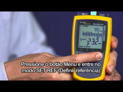 MultiFiber Pro- Optical Power Meter And Light Source, Portuguese Language: By Fluke Networks