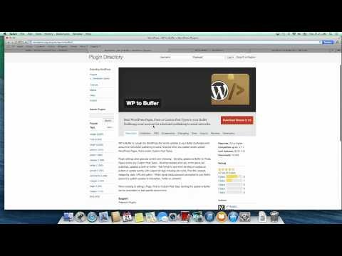 WP To Buffer WordPress Plugin For BufferApp