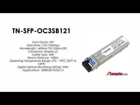 TN-SFP-OC3SB121  (Transition 100% Compatible Optical Transceiver)