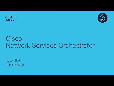 Cisco Network Services Orchestrator Architecture