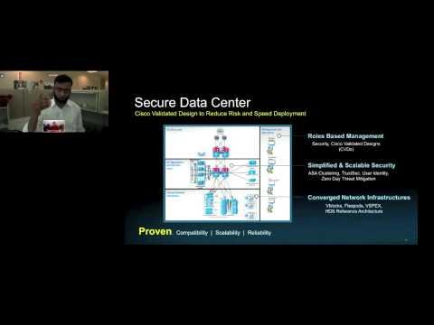 Data Center Security Solutions- (Cisco Validated Designs)