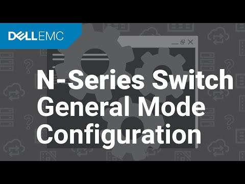 Configure General Mode Interfaces On Your N-Series Switch