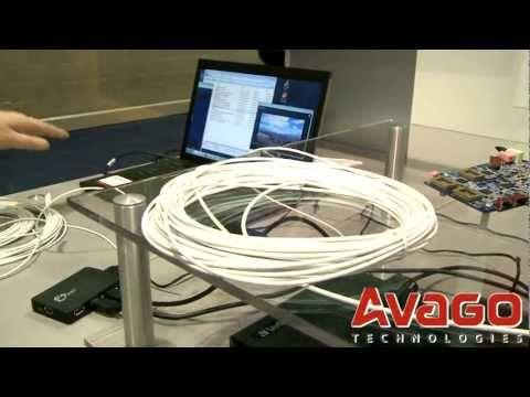 Avago Multi-Gigabit Consumer Optical Interconnect