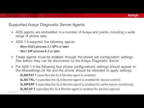 How To Discover An Agent On The Avaya Diagnostic Server