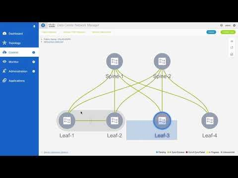 Creating And Deploying An Overlay Network Using DCNM, Release 11