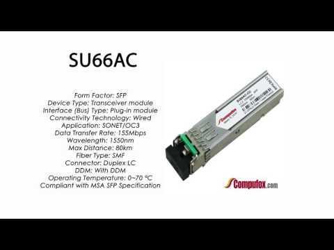 SU66AC  |  Marconi Compatible SFP 155Mbps 1550nm 80km DDM