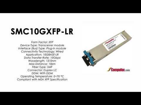 SMC10GXFP-LR  |  SMC Compatible 10GBase-LR 1310nm 10km XFP