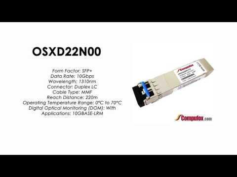OSXD22N00  |  Huawei Compatible SFP+ 10GBASE-LRM SMF 1310nm 220m