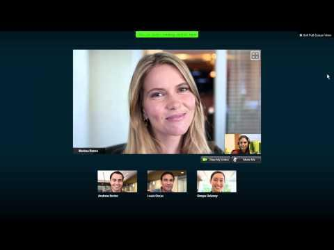 WebEx Meeting Center: Display Live Video (WBS30)