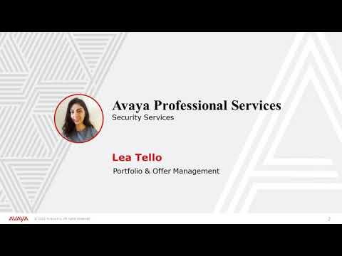 Avaya Professional Security Services