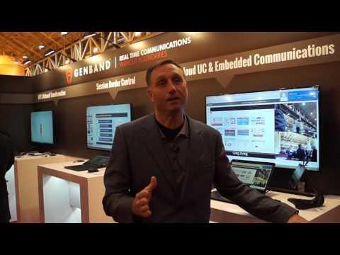 #scteExpo: Genband Talks NFV Trends, Platform As A Service