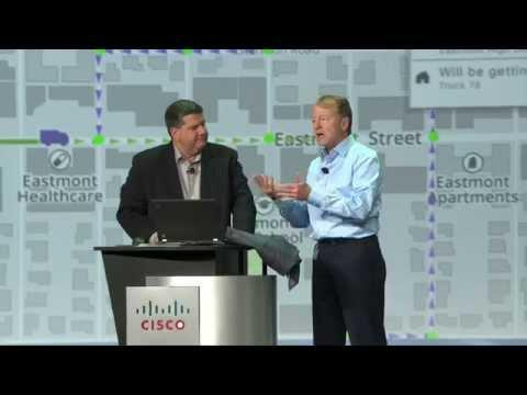 Cisco Partner Summit 2014 Global General Session Demo: Cisco InterCloud