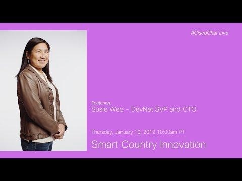 #CiscoChat Live: Smart Country Innovation