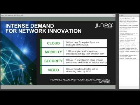 Juniper Networks Certification Webcast - March 2014