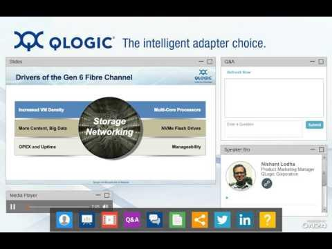 Shift Gears With QLogic And Brocade To Gen 6 (32Gb) Fibre Channel Webcast