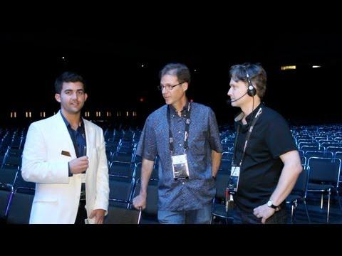 Cisco Live 2013 Behind The Scenes #7 | Backstage At The Keynote Hall