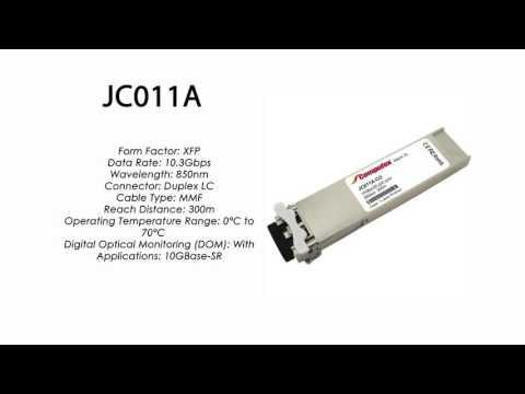 JC011A  |  HP Compatible 10GBase-SR XFP 850nm 300m MMF