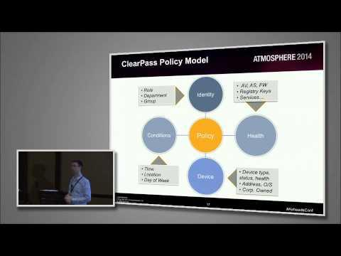 Airheads Vegas 2014 Breakout Video - Access Management With Aruba ClearPass