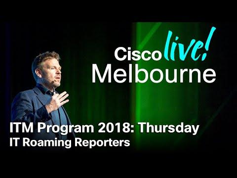 ITM Program Cisco Live Melbourne 2018 - Thursday