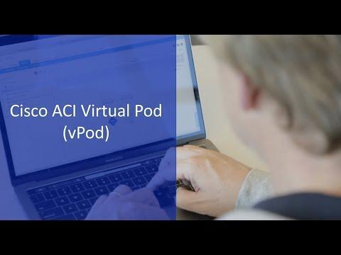 Cisco ACI Virtual Pod: Extend On-Premises Fabrics To Remote Data Centers