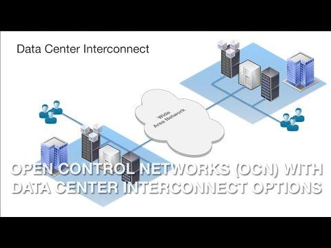 Open Control Networks (OCN) With Data Center Interconnect Options