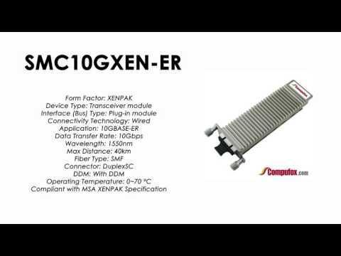 SMC10GXEN-ER  |  SMC Compatible 10GBase-ER 1550nm 40km XENPAK