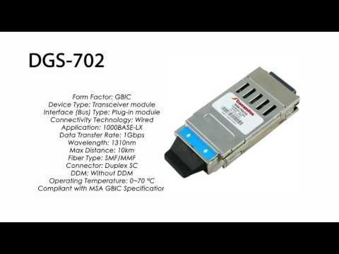 DGS-702  |  D-Link Compatible 1000BASE-LX GBIC 1310nm 10km
