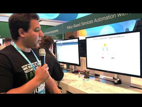 Cisco Live 2017: Policy Based Services Automation With ACI Demo