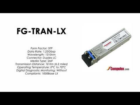 FG-TRAN-LX  |  Fortinet Compatible 1000BASE-LX/LH 1310nm 10km SFP