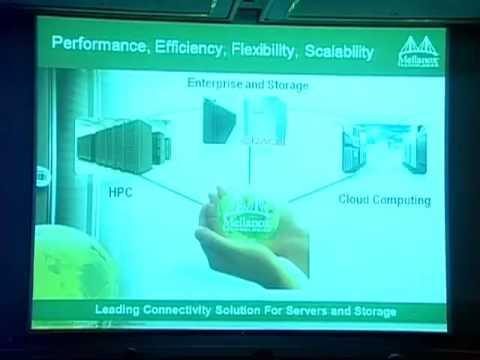 Efficiency And Utilization - Mellanox Technologies Keynote Presentation - Part 1