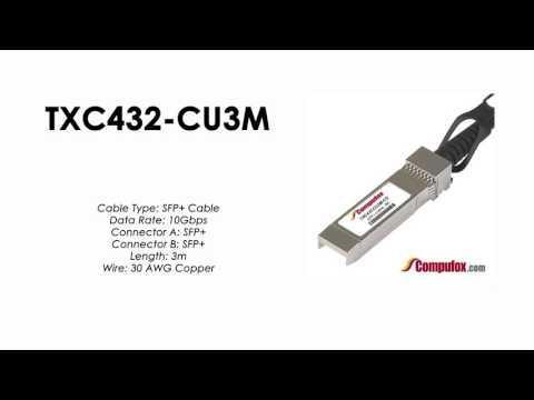 TXC432-CU3M     Tp-Link Compatible 3M Direct Attach SFP+ Cable