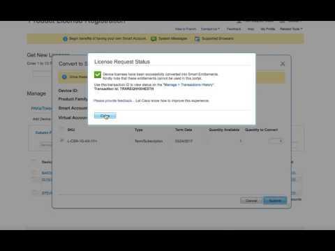 Convert Classic Licenses To Smart Licenses