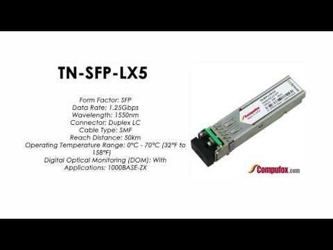 TN-SFP-LX5     Transition Compatible 1000BASE-LX SFP 1550nm SMF 50km