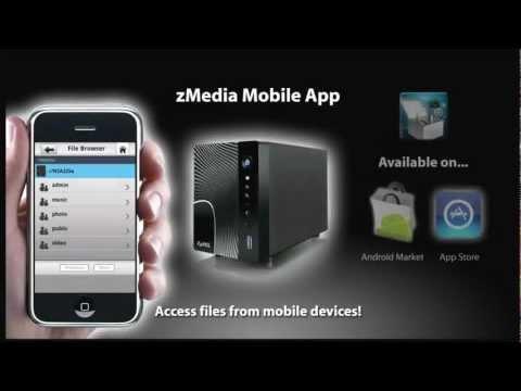 NSA325 Media Storage Server