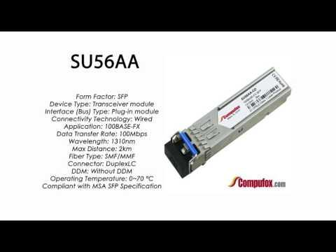 SU56AA  |   Marconi Compatible 100BASE-FX SFP 1310nm 2km