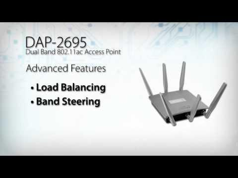 D-Link Wireless AC1750 PoE Access Point Datasheet (DAP-2695)