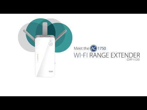 Meet The D-Link AC1750 Wi-Fi Range Extender (DAP-1720)