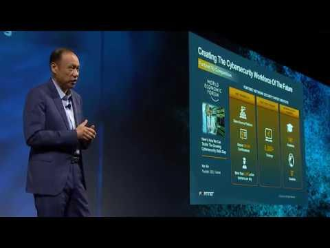 Ken Xie: A Security-Driven Network For A Hyperconnected World | Fortinet Accelerate 2019
