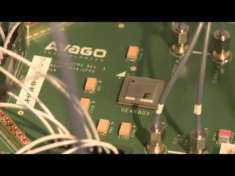 Avago 100G CFP2 Line Card Reference Solution Demonstration At OFC 2014