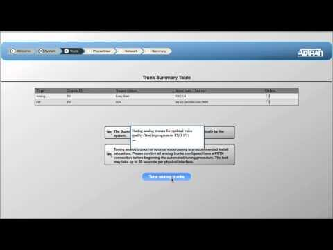NetVanta 7100 Installation Wizard