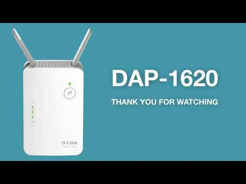 How To Set Up The AC1200 Wi-Fi Range Extender (DAP-1620)