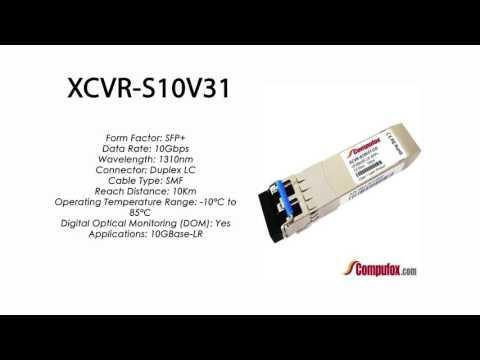 XCVR-S10V31  |  Ciena Compatible 10GBase-LR 10km 1310nm SFP+