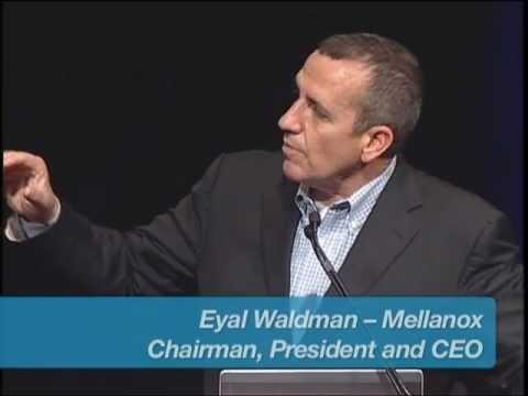 Mellanox Event At Interop In Las Vegas, NV - Eyal Waldman And Allwyn Sequeira (Part 2)