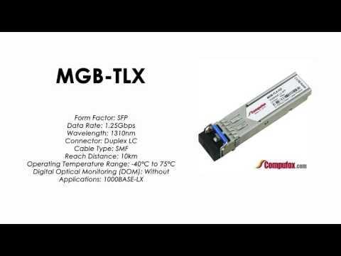 MGB-TLX  |  Planet Compatible 1000Base-LX 1310nm 10km SFP