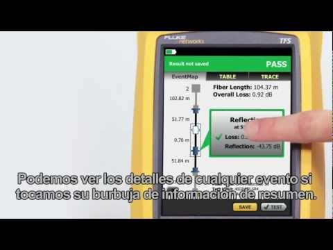 OptiFiber Pro - Demonstration, Spanish Language: By Fluke Networks