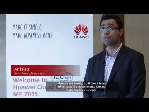 Huawei Cloud Conference, Middle East 2015