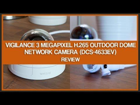 D-Link Vigilance 3 Megapixel H.265 Outdoor Dome Network Camera (DCS-4633EV) - Review