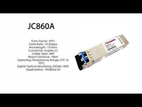 JC860A  |  HP Compatible 10GBase-LR 1310nm 10km SFP+